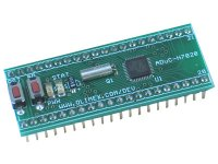 Header board in DIL40 format for ADuC7020 ARM7 microcontroller