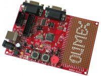 Header development board for ATSAM3S4BA microcontroller