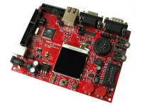 Development board for AT91SAM7X256 ARM7TDMI-S microcontroller
