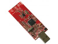 SAM7-NRF24 USB plugin dongle with nordic NRF24L01 and AT91SAM7S64 ARM7TDMI-S microcontroller