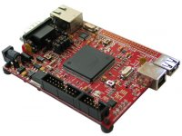 Development board for AT91SAM9260 microcontroller