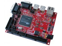 Development board for EP9301/EP9302 ARM920T microcontroller with USB, RS232, ethernet and compact flash connector