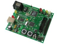 Board with ethernet interface for LPC2124 ARM7TDMI-S microcontroller