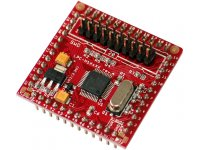 Development prototype header breakout board for LPC11A14 CORTEX M0 ARM microcontroller