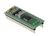LPC2106 ARM7 microcontroller header board in DIL40 format