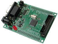 Header board for LPC2124 ARM7TDMI-S microcontroller