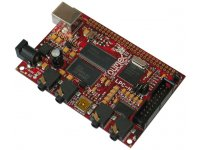 Low cost compact LPC3131 high speed USB header development prototype board