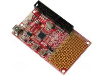 Development prototype board for LPC1114 CORTEX M0 ARM microcontroller