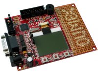 DEvelopment prototype board for LPC1227 CORTEX M0 ARM microcontroller