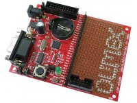 Prototype board for LPC2103 ARM microcontroller