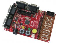 Prototype board for LPC2129 ARM7TDMI-S microcontroller
