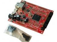 Development board for STM32F407ZGT6 CORTEX-M4 microcontroller with Ethernet, USB host, USB-OTG
