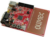 Prototype board for STM32F107 CORTEX-M3 microcontroller