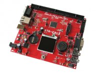 Development board for STR912 ARM966 microcontroller with CAN, USB, RS232, Ethernet TFT LCD display