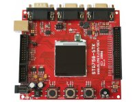 Development board for STR750 ARM7TDMI-S microcontroller