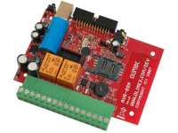 Development board with ATMEGA32 and 3 band GSM GPRS module 850/900/1800MHZ