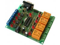 Development board for 20 pin AVR microcontroller with STKxxx compatible 10 pin ICSP