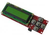 Development board for ATMEGA128 AVR microcontroller with JTAG and STKxxx compatible 10 pin ICSP