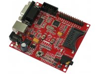 AVR USB AT90USB162 microcontroller development board with USB and ICSP