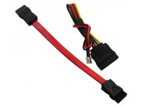 SATA data + SATA power cable