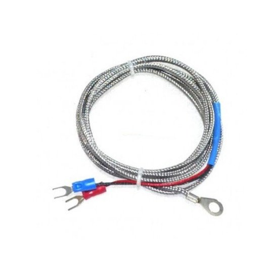 K-TYPE THERMO COPULE WITH 1.5 METER INSULATED AND SHIELDED CABLE