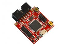 Open source hardware wearable Arduino Leonardo-like development board with ATmega32U4