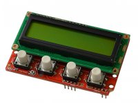 Arduino compatible shield with LCD16x2