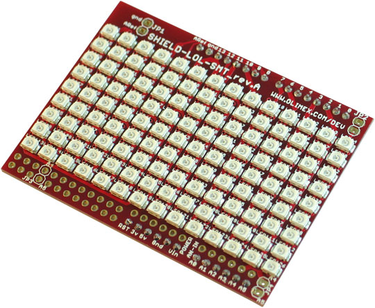 Lot Of LEDs shields with SMT LEDs