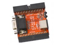 iCE40-IO is module with VGA, PS/2 and IrDA link