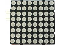 Stackable LED 8x8 matrix for MSP430-LED8x8-BOOSTERPACK