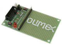MPS430F2131 header board