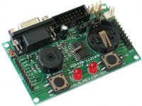 MPS430F1121 starterkit development board