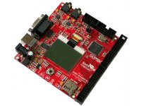 MPS430F5438 starterkit development board with NOKIA3310 graphics LCD, RS232, USB, AUDIO, SD-MMC CARD, Joystick