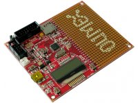 MPS430F5510 starterkit development board with LCD, UEXT, USB, SD-CARD, Battery charger