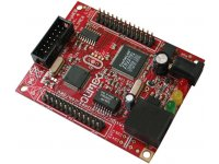TCP/IP board with MPS430F149 based on Andreas Dannenberg easyWeb TCP/IP
