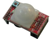PIR sensor with MSP430F2013 microcontroller