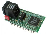 CS8900 Ethernet controller header board