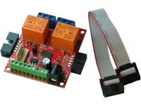 Input output expandable board with UEXT