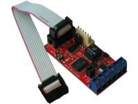 Galvanically isolated RS485/RS422 converter module with UEXT