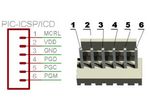 PIC-ICSP-Connector