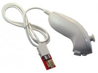 Wii Nunchuck controller with ICSP connector