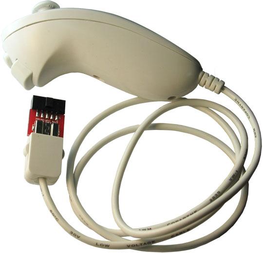 mod wii uext open source hardware board wii nunchuck controller uext connector