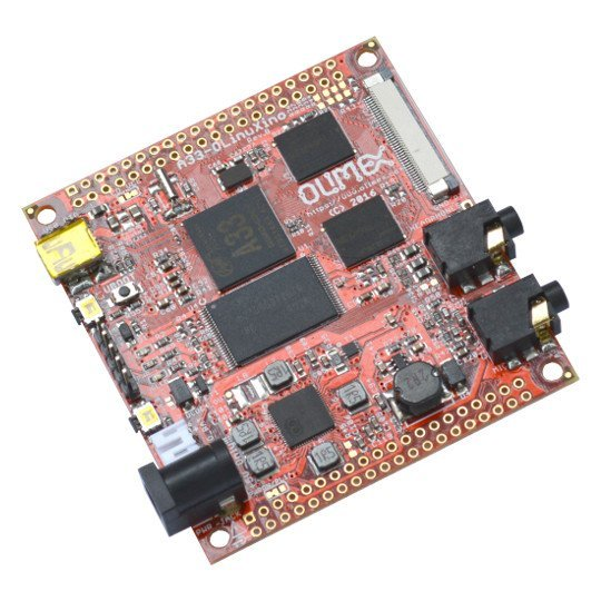 A33-OLinuXino-4GB - Open Source Hardware Board