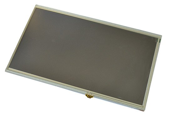 10-inch LCD display with resistive touchpanel, suitable for and tested with Allwinner OLinuXino and SOM boards