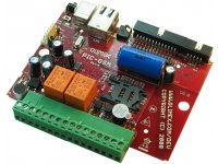 Development board with GSM module and PIC18F67J50 microcontroller