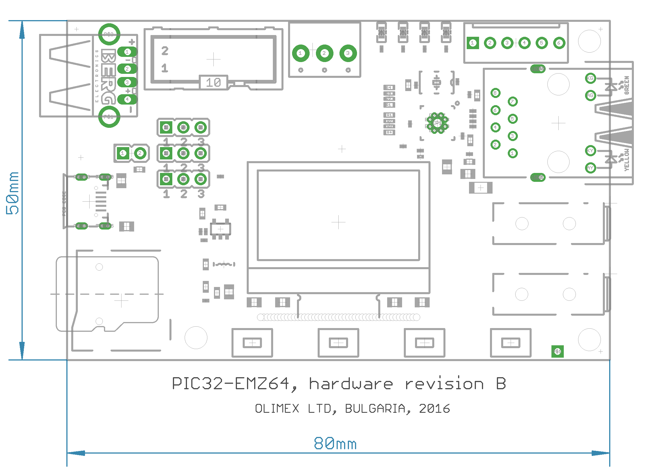 Pic32 Emz64 Open Source Hardware Board Eagle Cad Controller Schematic Display In Pdf Format And Design Sources For