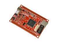 Development board with PIC32MZ2048EFG144 running at 200Mhz and with 2MB of Flash and 512KB SRAM
