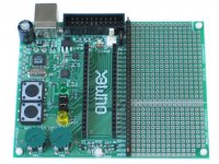 Development (motherboard) board for ADuC-H7020 header board