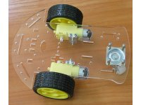 3 wheels robot kit