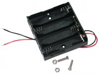 Battery holder - 4 x AA